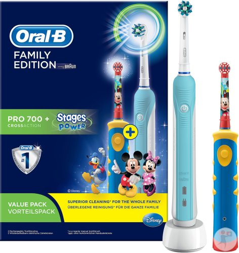 Oral B Brosse Elect. Pro 700 Family Pro700+stages