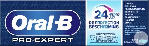 Oral-B Pro-Expert 24h Protection Professionnelle Dentifrice Menthe Extra-Fraîche 75ml