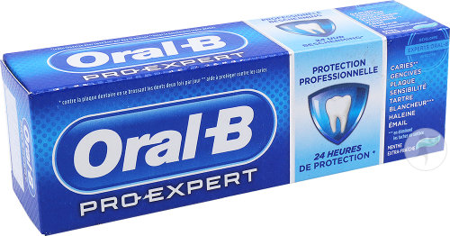 Oral-B Pro-Expert Protection Professionnelle Menthe Extra-Fraîche Tube 75ml
