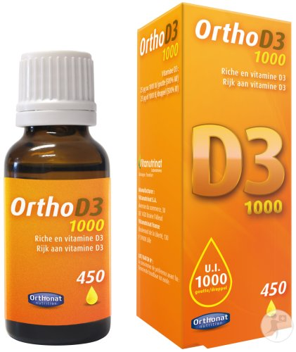 Orthonat Ortho D3 1000 Gouttes 450