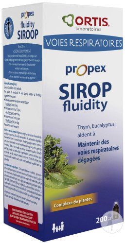 Ortis Propex Sirop Fluidifiant 200ml