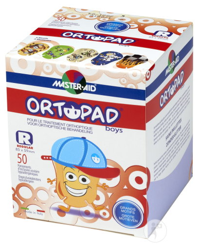 Ortopad Regular For Boys Compresse Oculaire 50 Pièces (73324)