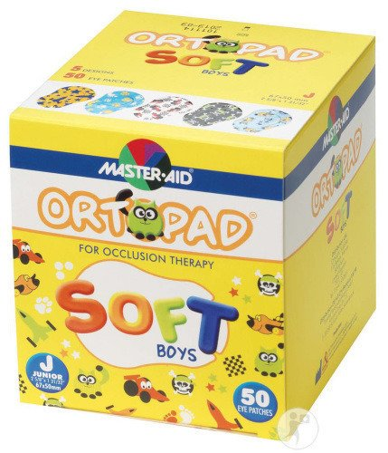Ortopad Soft Boys Junior 67x50mm 50 72241