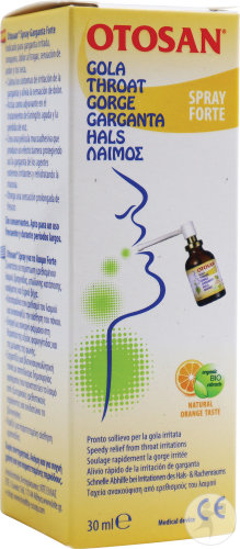 Otosan Spray Gorge Forte Flacon 30ml