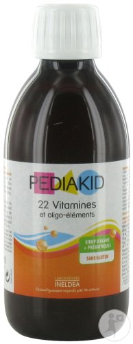 Pediakid 22 Vitamines Et Oligo-Éléments 250ml