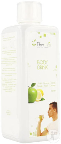 Phar Life Body Drink Pomme Citron Bouteille 500ml