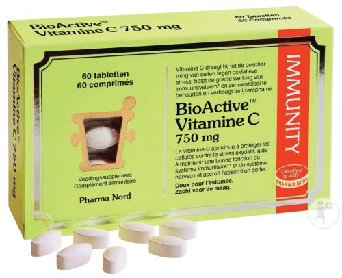 Pharma Nord BioActive Vitamine C 750mg Comprimés 60