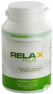 Pharmanutrics Relax Plus Pot 60 Vegecaps