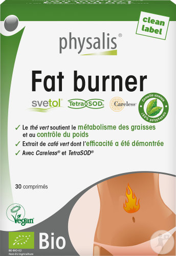 Physalis Fat Burner Bio Comprimés 30