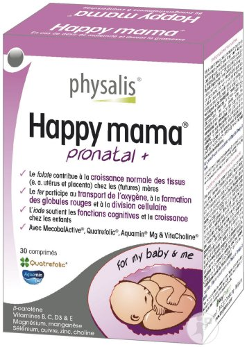 Physalis Happy Mama Pronatal+ 30 Capsules