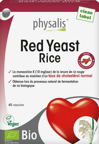 Physalis Red Yeast Rice Bio 45 Capsules