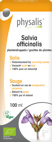 Physalis Salvia Officinalis Gouttes De Plantes Bio 100ml