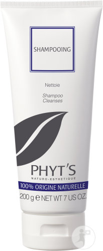 Phyt's Shampoing Nettoyant Équilibrant Toutes Types De Cheveux Tube 200g