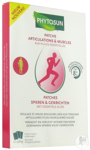 Phytosun Patches Muscles Et Articulations 3 Pièces