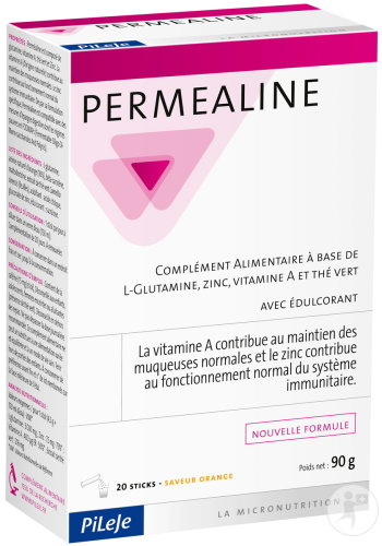 PiLeJe Permealine Saveur Orange 20 Sticks