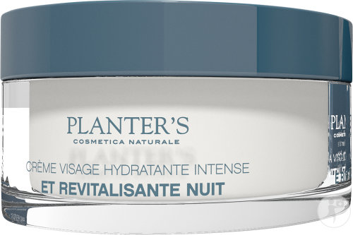 Planter's Aloe Plus Crème De Nuit Revitalisante À L'Aloe Vera Et Au Fruit Du Dragon Pot 50ml