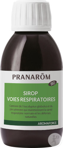 Pranarôm Aromaforce Sirop Voies Respiratoires Bio Flacon 150ml