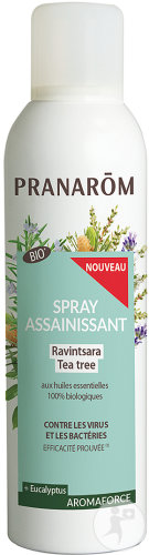 Pranarôm Aromaforce Spray Assainissant Ravintsara Tea Tree Bio 150ml