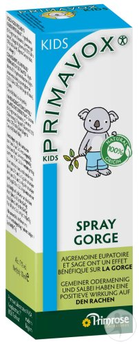 Primrose Kids Primavox Spray Gorge 10ml