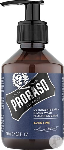 Proraso Azur Lime Shampoing Pour Barbe 200ml