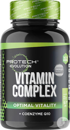 Protech Evolution Vitamin Complex Optimal Vitality + Coenzyme Q10 Gélules 60
