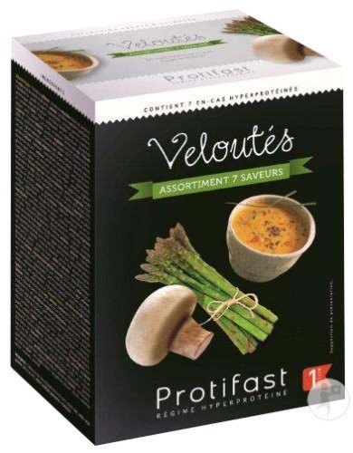 Protifast Veloutes Potages Assortiment Sach 7