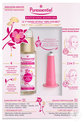 Puressentiel Coffret Beauté De La Peau Home Lifting 100% Naturel