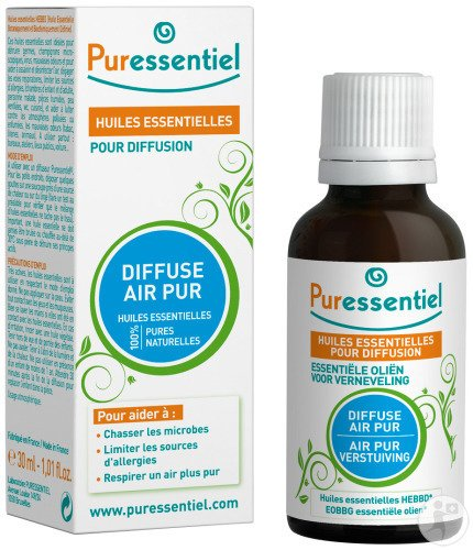 Puressentiel Huiles Essentielles Pour Diffusion Diffuse Air Pur 30ml