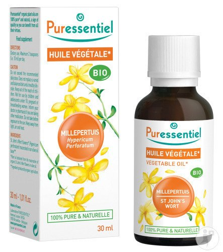 huile vegetale millepertuis contre indication