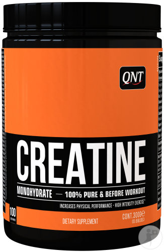 QNT Creatine Monohydrate 100% Pure Pot 300g