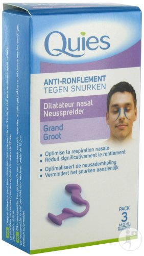 Quies A/ronflement Dilateur Nasal Grande 1