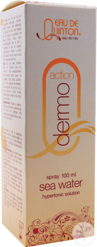 Quinton Dermo Action Eau De Mer Solution Saline Hypertonique Flacon Spray 100ml