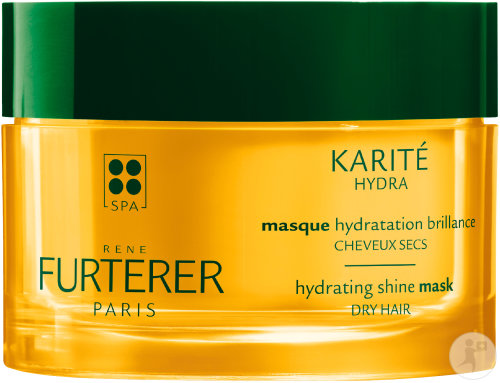 René Furterer Karité Hydra Masque Hydratation Brillance Cheveux Secs Pot 200ml