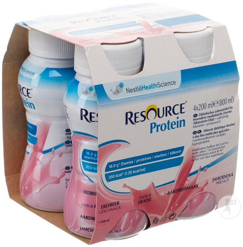 Resource Protein Fraise 4x200ml