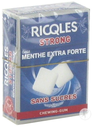 Riqcles Chewing Gum Strong 24g