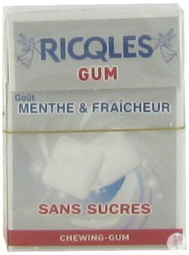 Riqcles Chewing Gum Whitening 24g