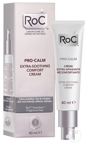 RoC Pro-Calm Crème Extra-Apaisante Réconfortante Tube 40ml