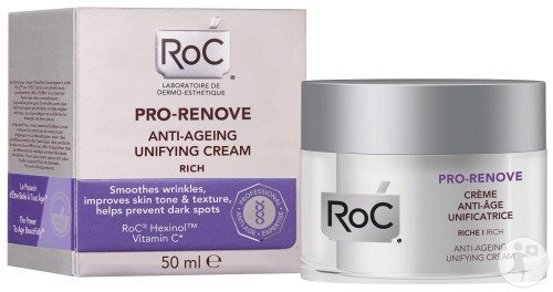 RoC Pro-Renove Crème Anti-Age Unificatrice Riche Pot 50ml