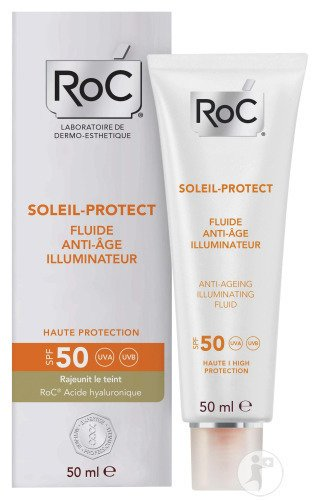 RoC Soleil-Protect Fluide Anti-Age Illuminateur IP50 Tube 50ml