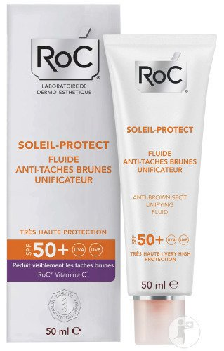 RoC Soleil-Protect Fluide Anti-Taches Brunes Unificateur IP50+ Tube 50ml