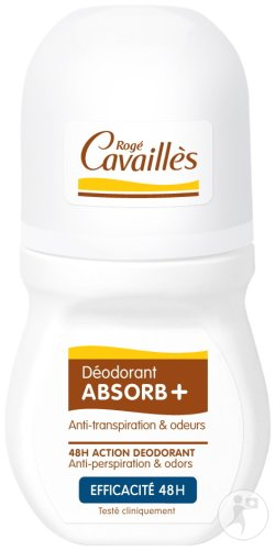 Rogé Cavaillès Déodorant Absorb+ Invisible 48H Roll-On 50ml