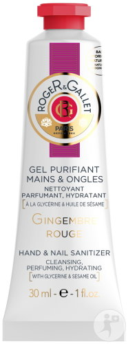 Roger&Gallet Gingembre Rouge Gel Purifiant Mains Et Ongles Tube 30ml