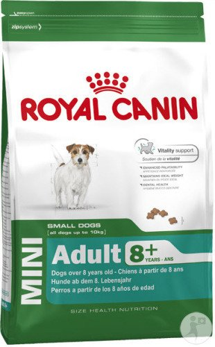 Royal Canin Size Health Nutrition Mini Mature Canine 8+ Ans 8kg