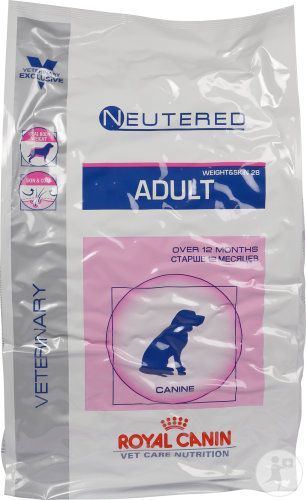 Royal Canin Vet Care Nutrition Weight Skin Neutered Adult Canine 10kg