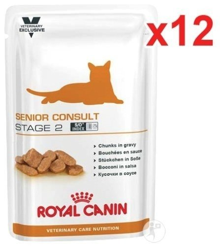 Royal Canin Veterinary Care Nutrition Consult Stage 2 Senior Sachets 12x100g