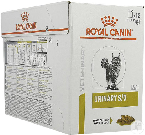 Royal Canin Veterinary Diet Chat Vessie Urinaire S/O Sachets 12x85g