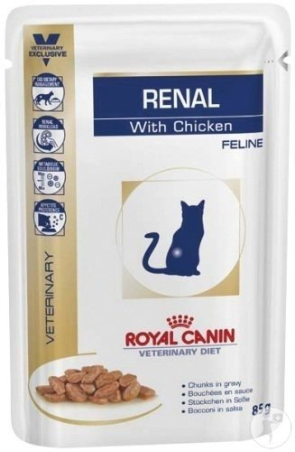 Royal Canin Waltham Feline Wet Renal Support Chicken Sachet 85g