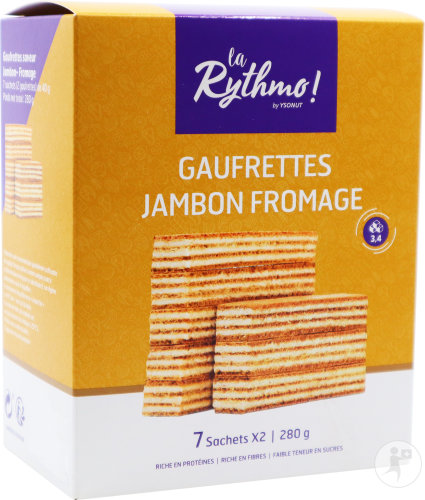 Rythmo Gaufrettes Jambon-fromage Sach 7