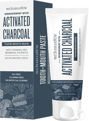 Schmidt's Activated Charcoal Dentifrice Tube 133g