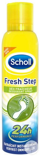Scholl Fresh Step Déo Fraîcheur Spray 150ml